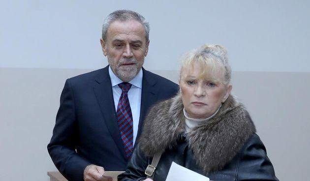 Milan Bandić i supruga Vesna