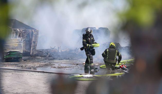 Požar Novi Zagreb