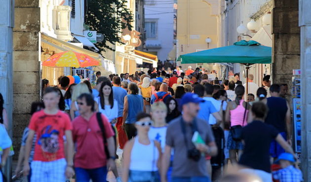 Skitnja gradom 22. srpnja 2013.  Foto: Roberto Lerga