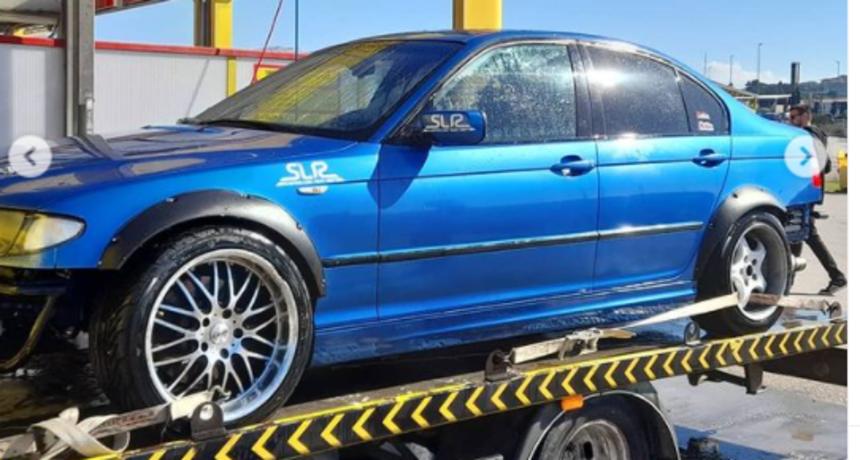 Ante iz 'Života na vagi' pohvalio se svojim BMW-om: 'Novi drift auto'