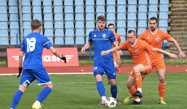 Nogomet: Karlovac 1919 - Slunj 14. travnja 2021.