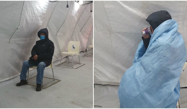 Otac Zrinke Ljevar u šatoru