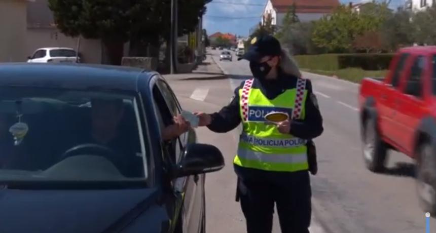 Potjera na zadarskim ulicama: Policija uhvatila pijanog vozača koji je dva puta prošao kroz crveno