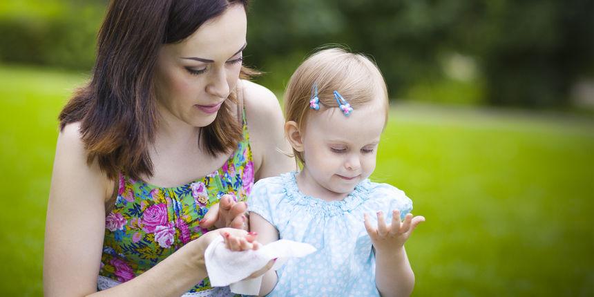 Izbacite ih: vlažne maramice mogu potaknuti alergiju na hranu kod djece