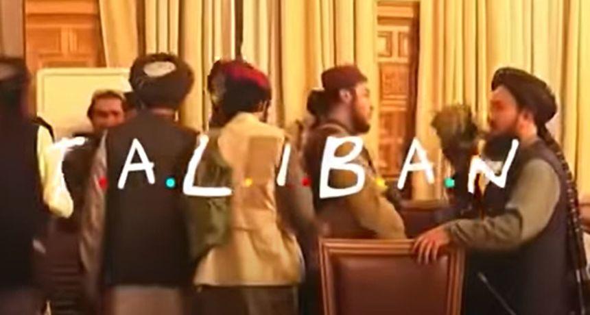 Netko je spojio snimke talibana s pjesmom iz 'Prijatelja': Video postao hit na internetu
