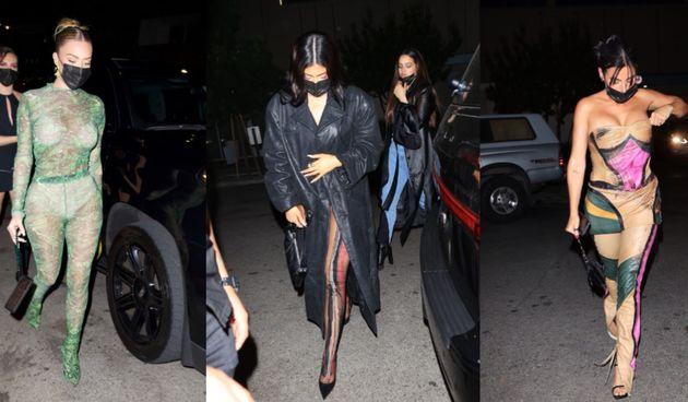 Kylie Jenner i prijateljice