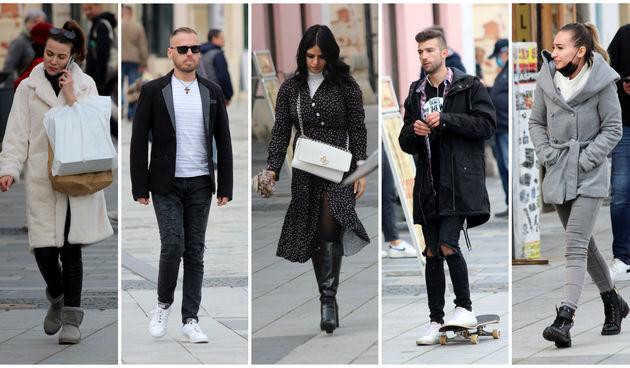 KLIKOM PO GRADU Toplo obučeni, ali i modno osvješteni, pogledajte tko je danas šetao Varaždinom