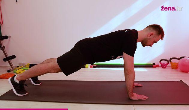 Mala škola fitnessa: Pogledaj kako pravilno izvesti plank (thumbnail)