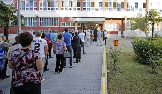 Velike gužve u Mostaru na biralištima tijekom parlamentarnih izbora u Republici Hrvaskoj