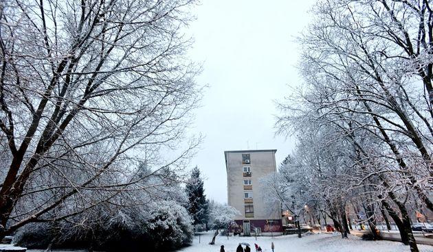 zima, Zagreb