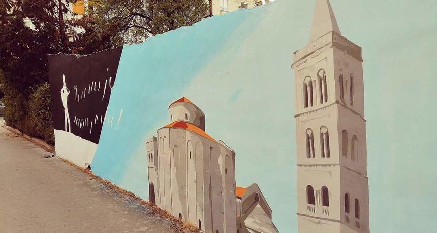 Tko je uništio grafit u Velebitskoj ulici?