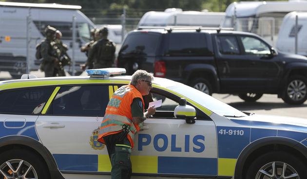 Policija Švedska, ilustracija