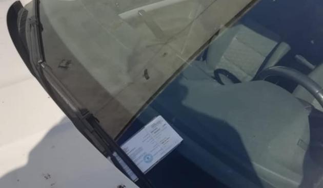 Murter kazna za parkiranje