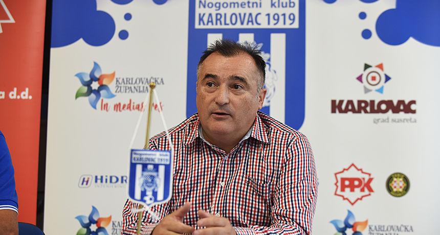 Sreten Ćuk više nije trener Karlovca 1919 - presudile vrlo loše igre Karlovčana na ovosezonskim gostovanjima?