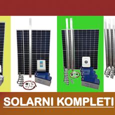 Solarni kompleti – sve komponente sustava na jednom mjestu