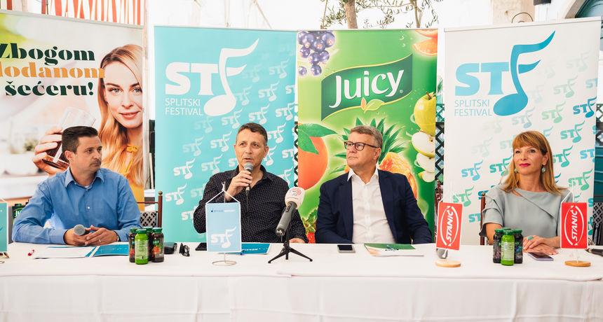 Press konferencija povodom predstavljanja prve festivalske večeri i potpisivanje ugovora sa zlatnim sponzorom finalne večeri