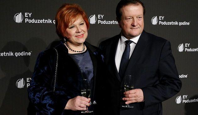 rektor damir boras i supruga