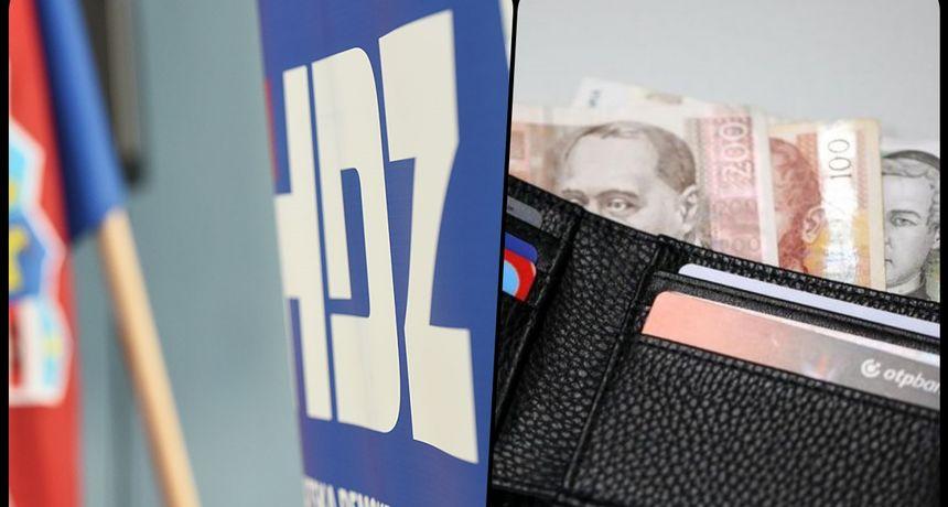 HDZ prikupio najviše donacija u prošloj godini, u Karlovačkoj županiji najviše se