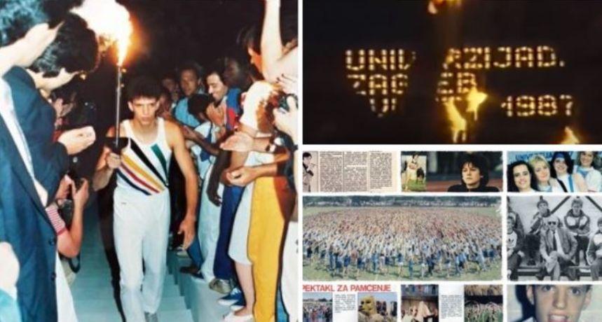 Prisjetimo se davnih vremena: U ovo vrijeme '87. sve su oči bile uprte u Zagreb i njegovu Univerzijadu