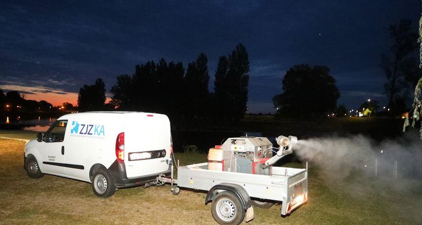 U ponedjeljak dezinsekcija komaraca u gradu Ozlju - u slučaju lošeg vremena bit će odgođena