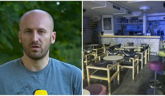 Marin Medak, kafić