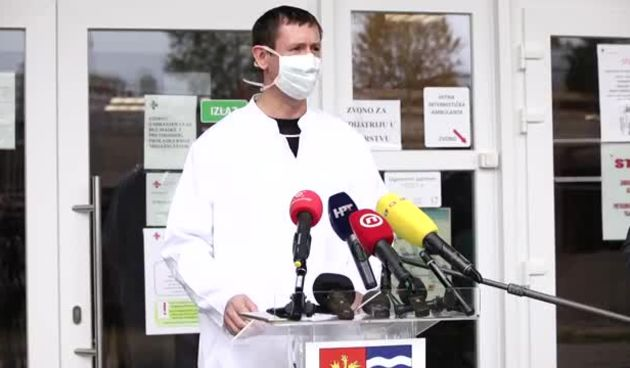 Konferencija za medije o stanju zaraze koronavirusom u Varaždinskoj županiji, 23.10.2020. (thumbnail)