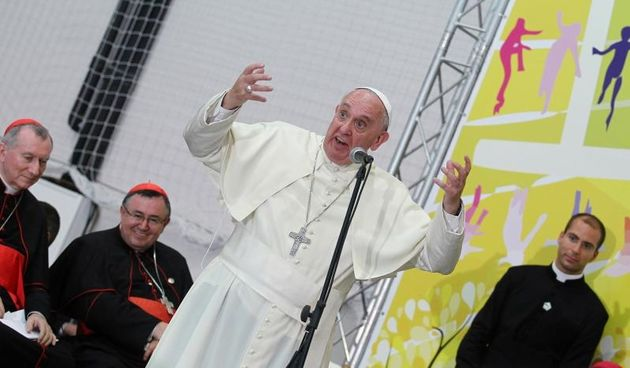 Sveti otac Papa Franjo. Photo: Željko Lukunić/PIXSELL