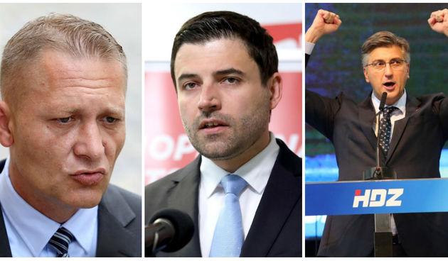 Rejting stranaka u sjeverozapadnoj Hrvatskoj