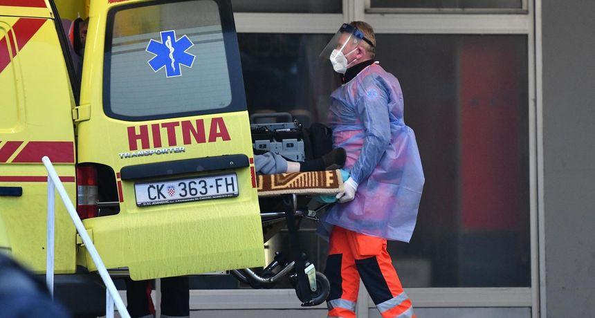 DONJI VIDOVEC Radnik se poskliznuo i pao, teško je ozlijeđen