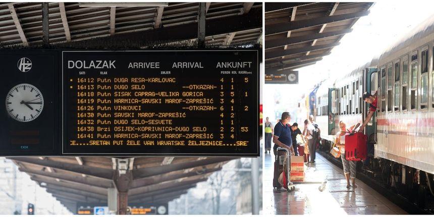 HŽ više neće kasniti: Ako vlak ne dođe na vrijeme, putnici će moći tražiti povrat novca