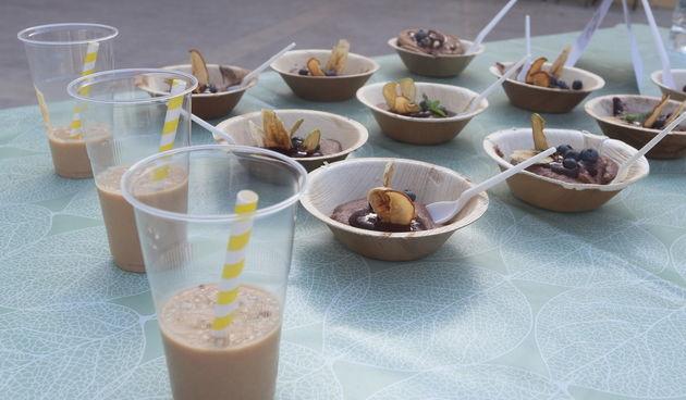 Udruga Aktivno Bibinje sumještanima priredilaa Zdravi doručak