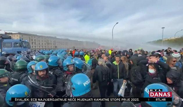 Italija prosvjedi