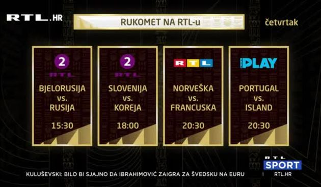 I prije prvog susreta Hrvatske, utakmice na SP možete pratiti na RTL-u (thumbnail)