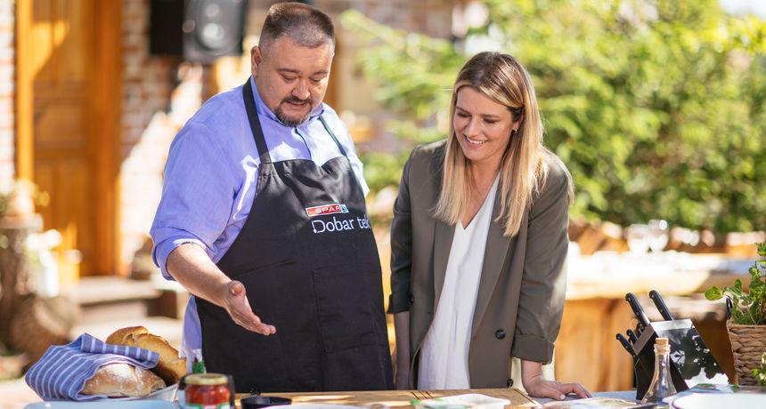 U novoj epizodi 'BBQ majstorije sa Špičekom by SPAR' popularni kuhar ugostit će Antoniju Blaće i počastiti je slasnom piletinom