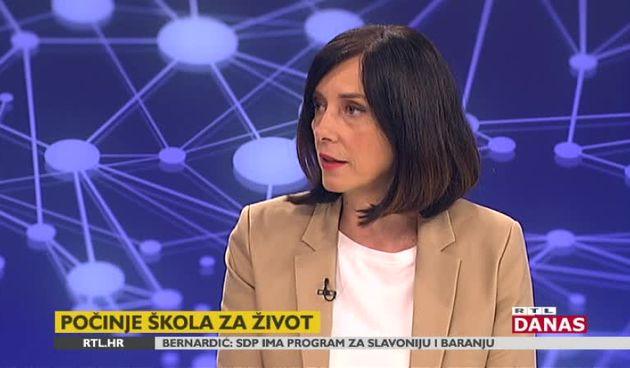 Ministrica Divjak o novostima u školi, jedna od njih je i zaključivanje ocjena (thumbnail)