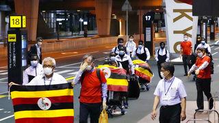 Tim Ugande u Tokiju