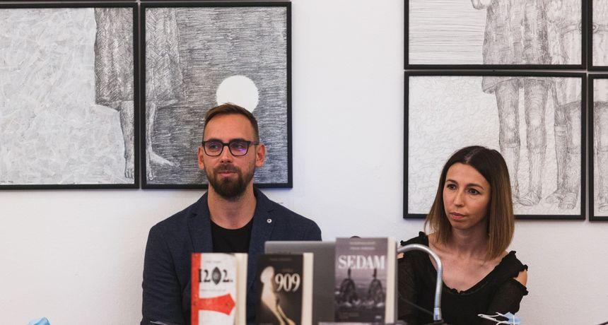 Frane Herenda u Zagrebu predstavlja roman Sedam i slikovnicu 1202. - križarska opsada Zadra