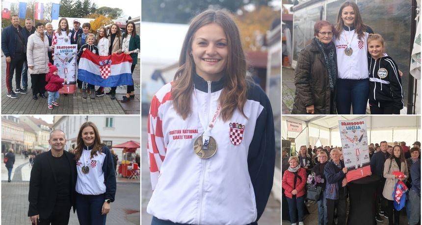 VIDEO I FOTO Doček kakav zaslužuje: Međimurje dočekalo svoju svjetsku prvakinju Luciju Lesjak!