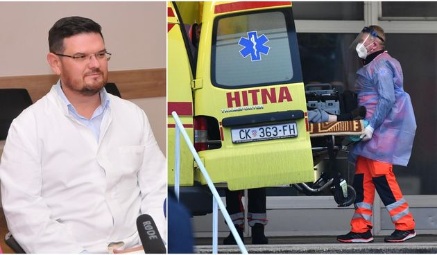 RAVNATELJ ŽUPANIJSKE BOLNICE IGOR ŠEGOVIĆ: Kliničke slike oboljelih sve su teže