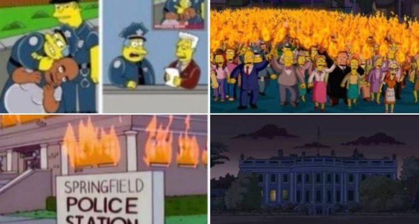 Simpsoni ponovno pogađaju? Predvidjeli napade prosvjednika na Bijelu Kuću