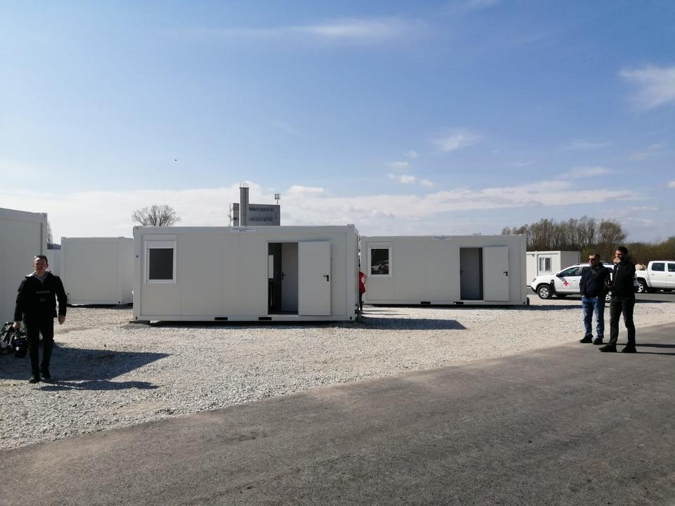 Kontejnersko naselje Glina - 39 stambenih objekata