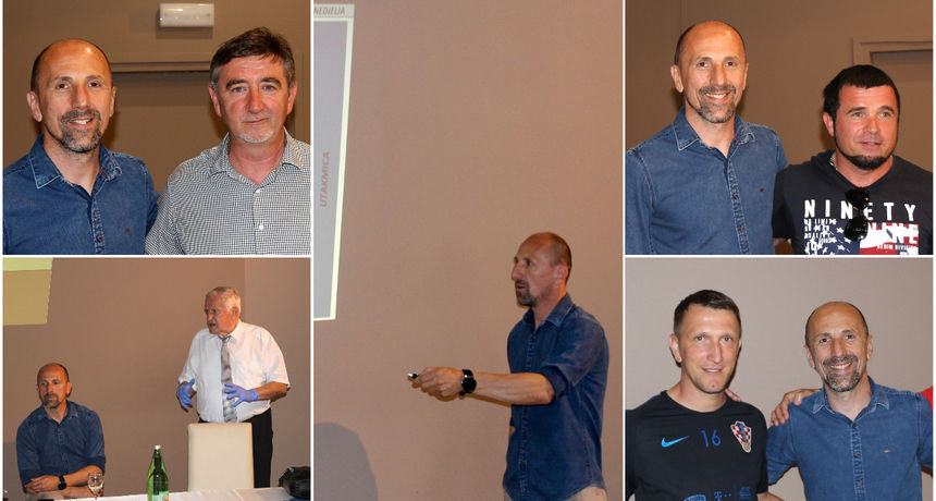 FOTO Trener zagrebačkog Dinama u Prelogu: Održao seminar za međimurske trenere