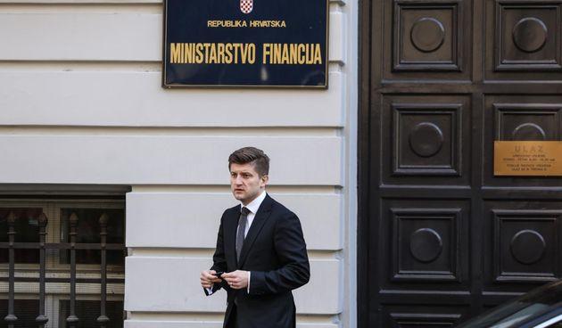 Zdravko Marić ministarstvo financija
