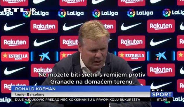 Koeman: 'Čim smo počeli s utakmicom, znali smo da će biti teško' (thumbnail)