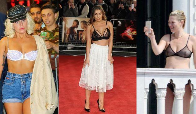 Lady Gaga, Abi Clarke, Kate Moss