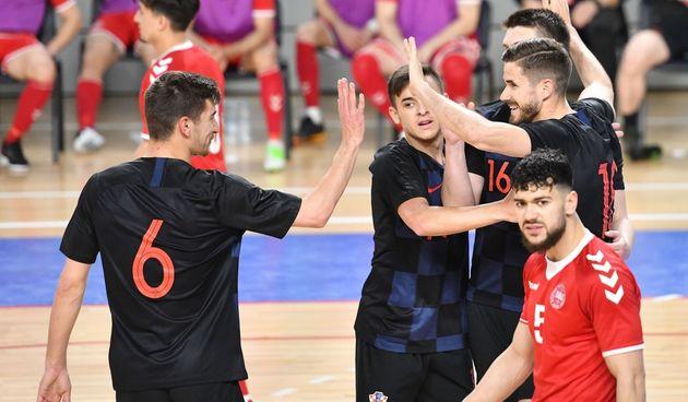Futsal: Hrvatska - Danska
