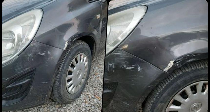 Nepoznati vozač udario i oštetio automobil na parkingu u Vrazovoj pa nestao - vlasnica moli pomoć ako je netko vidio tko je to učinio