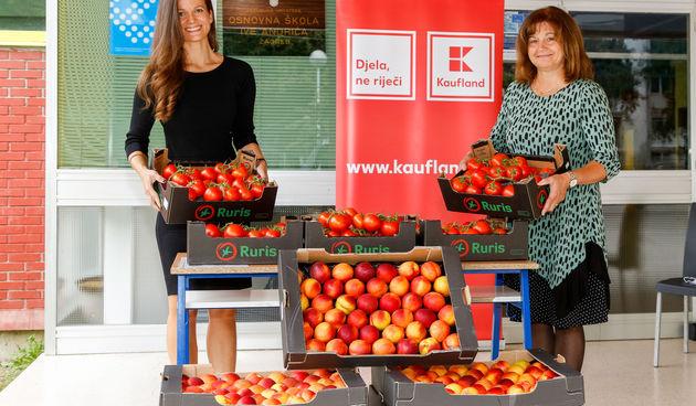 Kaufland ponovno donira voće i povrće za svježu školsku godinu