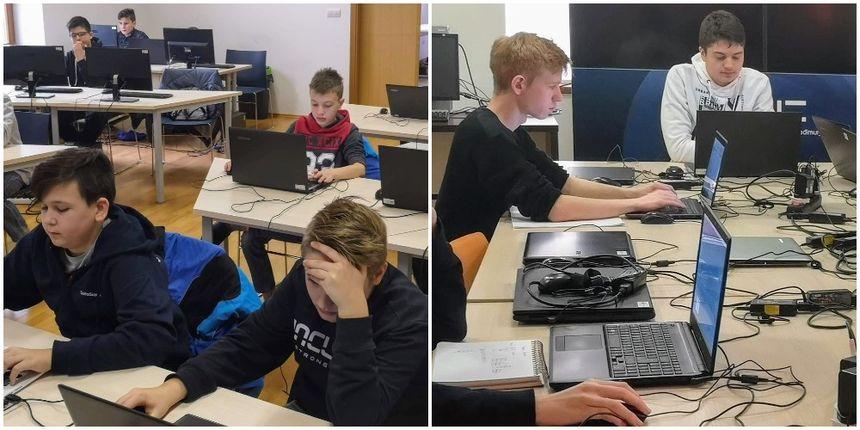 MLADI INFORMATIČARI Na Hrvatskom otvorenom natjecanju u informatici (HONI) osvojili tri prva mjesta
