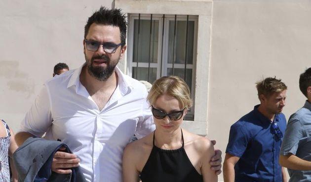 Danijela Martinović i Petar Grašo